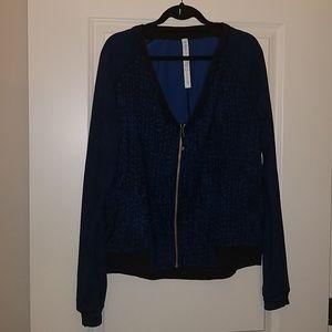 lululemon athletica Jackets & Coats - Lululemon H'om Run Jacket Inkwell Rugged Blue 10